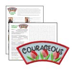 Girl Scout Courageous Character Building Patch Program®