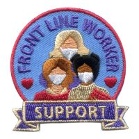 Girl Scout Front Line Worker Support Patch