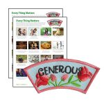 Girl Scout Generous Character Building Patch Program®