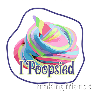 Your Scouts will have a great time making Unicorn Poop (rainbow glitter slime) with your troop. This I Poopsied patch from MakingFriends.com will make it more special. #makingfriends #scoutingfromhome #scoutpatches #girlscouts #scouts #juliettescouts #unicorns #unicornpoop #unicornslime via @gsleader411