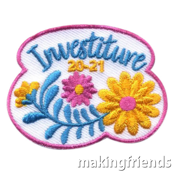 Girl Scout Investiture 2020-21 Fun Patch via @gsleader411