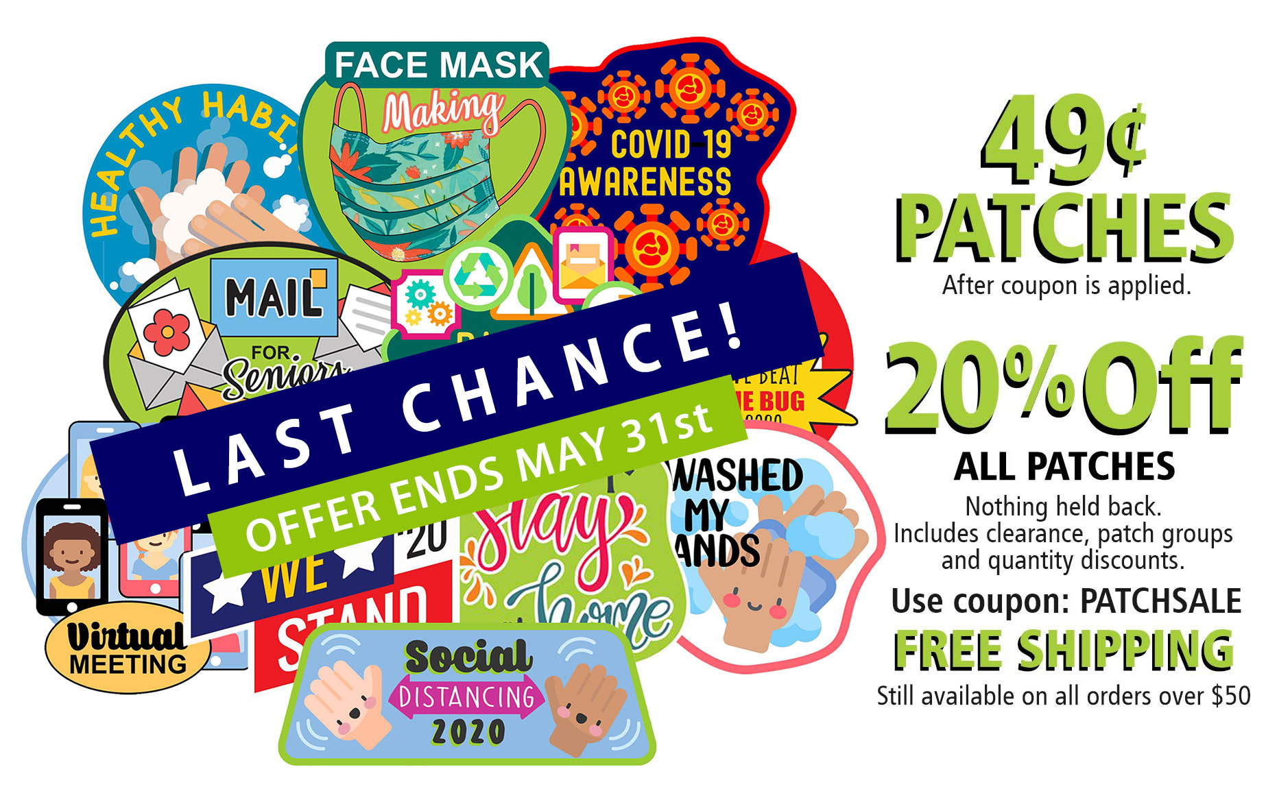 Covid Patch Sale Last Chance