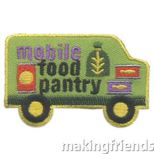 Your Girl Scouts can learn more about mobile food pantries and serving those in your community. Your girls will be proud to wear the Mobile Food Pantry patch. #makingfriends #patchprogram #scoutingfromhome #scoutpatches #girlscouts #scouts #juliettescouts #communityservice #service #giving via @gsleader411