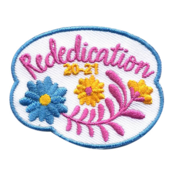 Girl Scout Rededication 2020-21 Fun Patch
