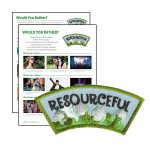 Girl Scout Resourceful Character Building Patch Program®