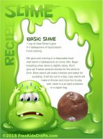 slime, slime kit, gooey, icky, slimy, goo, putty