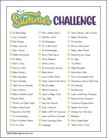 Girl Scout Summer Challenge
