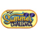 Girl Scout Summer Challenge Fun Patch