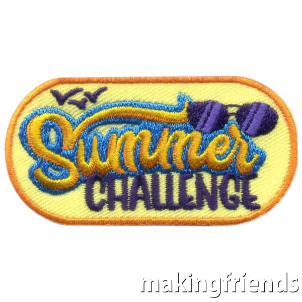 Challenge your scouts to have a summer filled with fun and trying new things. With a wide variety of activities, our Summer Challenge will encourage kids to do something different each day. has a beachy feel and has activities that will appeal to older girls. #makingfriends #mf #scoutingfromhome #scoutpatches #girlscouts #scouts #juliettescouts via @gsleader411