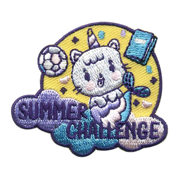 Girl Scout Summer Challenge Patch