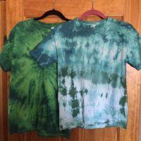 tie dye, tiedye, shirts, crafts, color