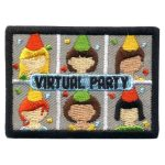 Girl Scout Virtual Party Fun PAtch