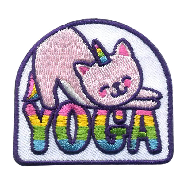 Girl Scout Yoga Fun Patch