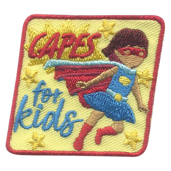 Girl Scout Capes for Kids Fun Patch
