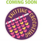 Girl Scout Knitting Crocheting Patch