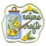 Girl Scout Nature Crafts Fun Patch