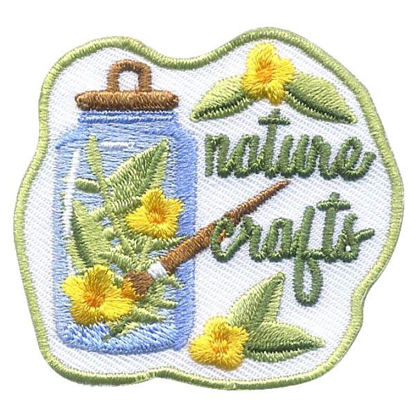 Girl Scout Nature Crafts Fun Patch