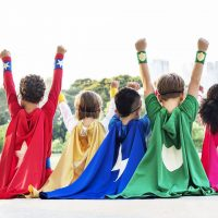 girl scouts capes for kids
