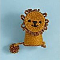 girls scout crocheting