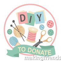 diy to donate patch, girl scouts .69 each, free shipping available