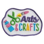 Girl Scout Arts & Crafts Fun Patch