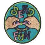 Girl Scout Bead Fun Patch