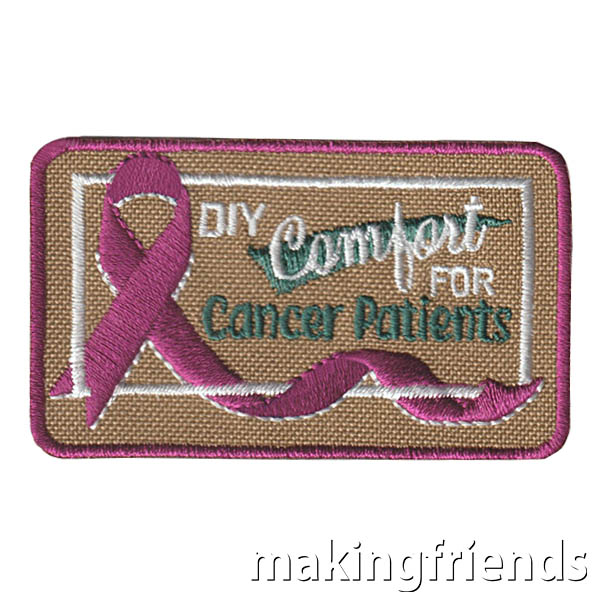 DIY Comfort Care items for cancer patients is a great way to give back. It helps them get through hard times. $.69 each Free Shipping Available #makingfiends #cancer #comfortcare #cancercomfortcare #DIY #giveback #comfort via @gsleader411