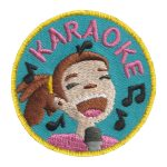 Girl Scout Karaoke Patch