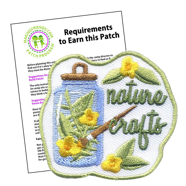 Girl Scout Nature Crafts Patch Program
