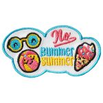 Girl Scout No Bummer Summer Patch