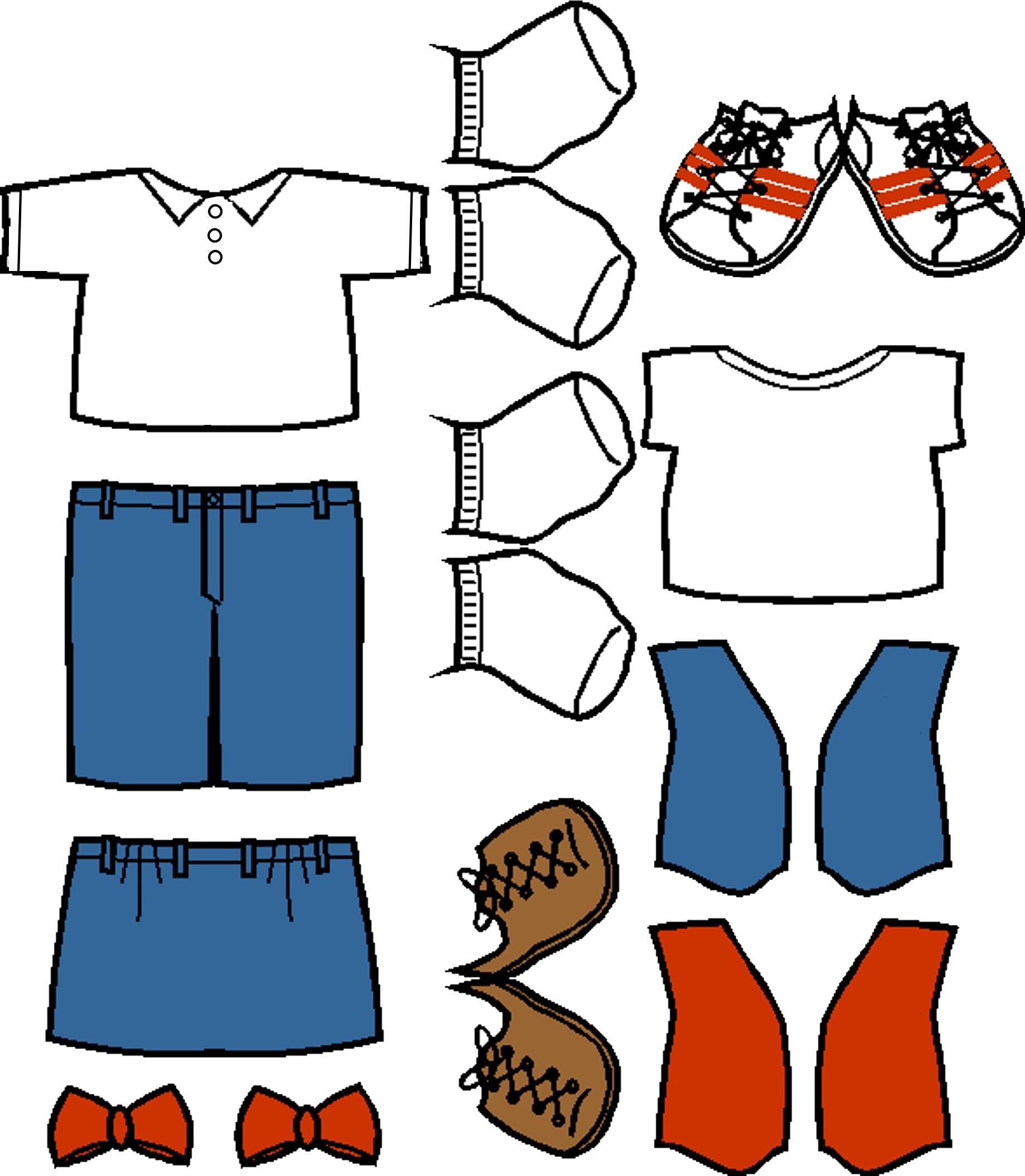 Frontier Girls Paper Doll Uniform