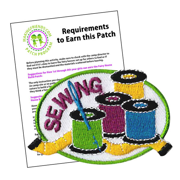 Girl Scout Sewing Patch Program