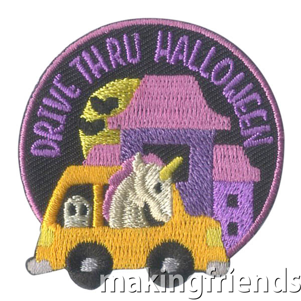 Halloween will be different this year but let's make it fun with drive thru Halloween parties!. $.69 each Free Shipping Available #makingfriends #halloweenpatch #drivethruhalloween #drivethru #halloween2020 #halloweencostumes via @gsleader411