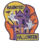 Girl Scout Haunted Halloween Fun Patch