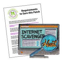 Girl Scout Internet Scavenger Hunt Patch Program