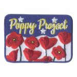 Girl Scout Poppy Project Patch