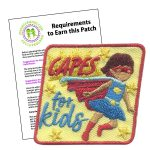 Girl Scout Capes for Kids Patch Program