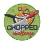 Girl Scout Chopped Challenge Fun Patch