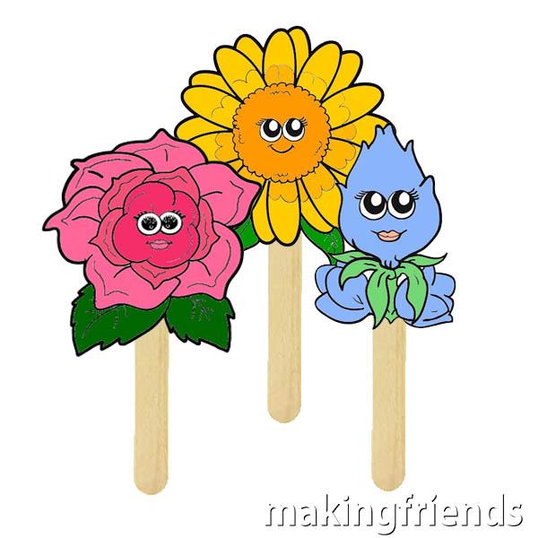 Girl Scout Daisy Flower Friends via @gsleader411