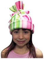 DIY Girl Scout Kit Hats for the homeless