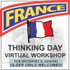 Virtual Thinking Day Workshop for France
