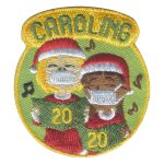 Girl Scout Caroling 2020 Fun Patch
