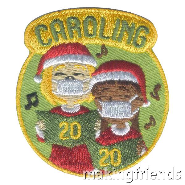 Girl Scout Caroling 2020 Fun Patch via @gsleader411