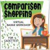 Girl Scout Cadette Virtual Workshop Comparison Shopping