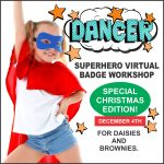 Girl Scout Virtual Dance Workshop for Brownie and Daisies Christmas Edition.