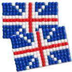 Diamond Painting United Kingdom flag pin Girl Scout SWAP