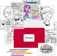 Virtual Girl Scout Kit Drawing