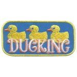 Girl Scout Ducking Fun Patch