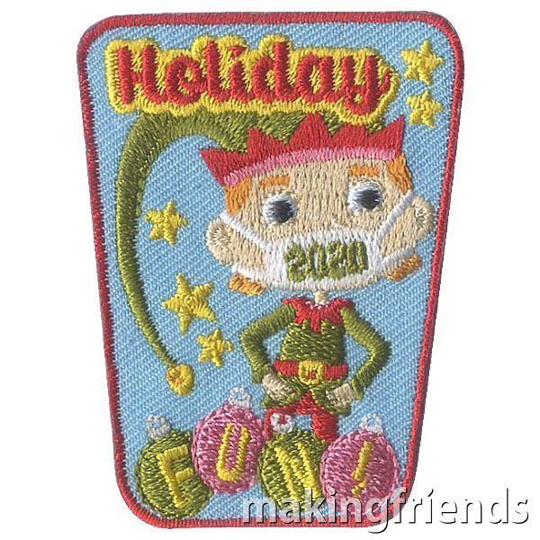Girl Scout Holiday 2020 Fun Patch via @gsleader411