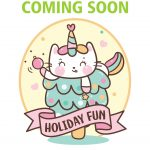 Girl Scout Holiday Cat Fun Patch